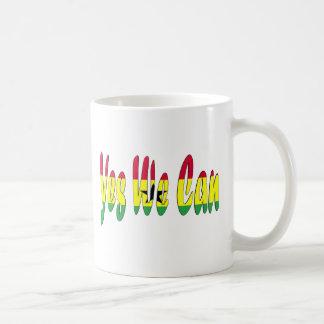 Ja können wir (Ghana-Flagge) Kaffeetasse
