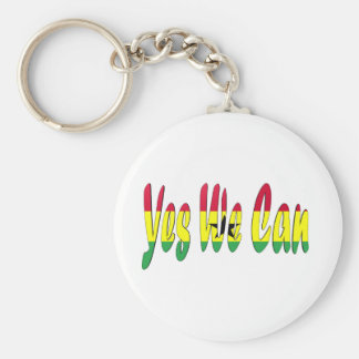 Ja können wir (Ghana-Flagge) Schlüsselanhänger