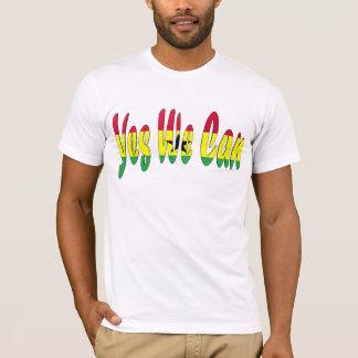 Ja können wir (Ghana-Flagge) T-Shirt