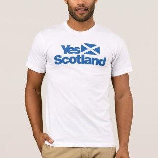 Ja schottische Unabhängigkeit 2014 Schottlands T-Shirt