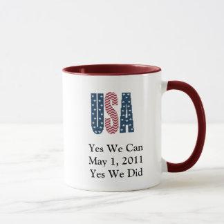 Ja taten wir tote Tasse Bin Laden