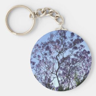 Jacaranda-Schlüsselring Schlüsselanhänger