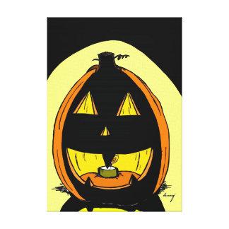 Jack o Laternen-Leinwand Leinwanddruck