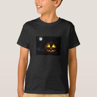 Jack O'Lantern im Baum-T - Shirt