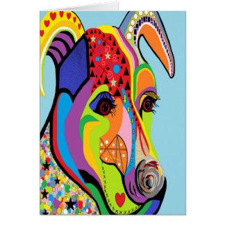 Jack-Russell-Terrier Karte