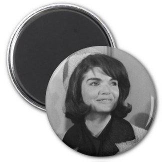 Jackie Kennedy Runder Magnet 5,7 Cm