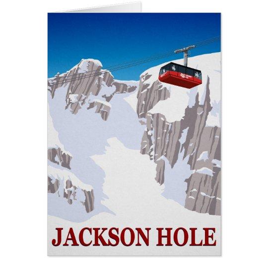 Jackson Hole Grußkarte