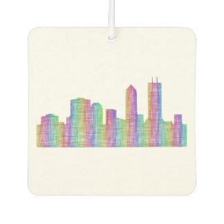 Jacksonville-Stadt-Skyline Lufterfrischer