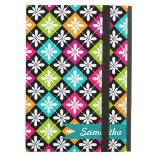 Jacquard coloré et motif floral personnalisés