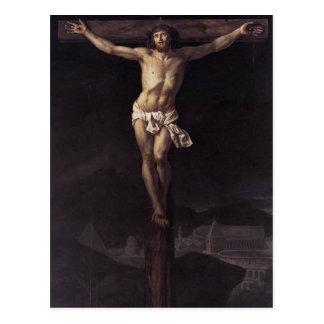 Jacques-Louis David Christus auf dem Kreuz Postkarte