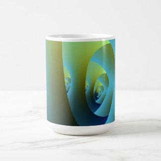 Jade-Labyrinth-Tasse Kaffeetasse