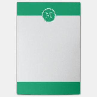 Jade-Spitzen personalisiert gefärbt Post-it Klebezettel