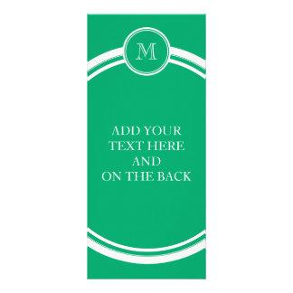 Jade-Spitzen personalisiert gefärbt Werbekarte