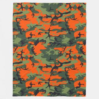 Jagd-Camouflage Fleecedecke