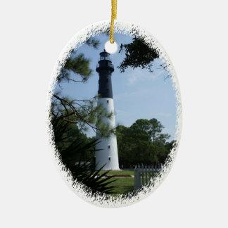 Jagd-Insel-Leuchtturm-Verzierung Keramik Ornament