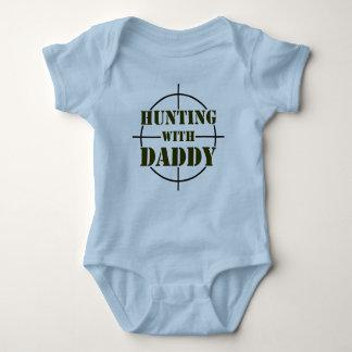 Jagd mit Vati Baby Strampler
