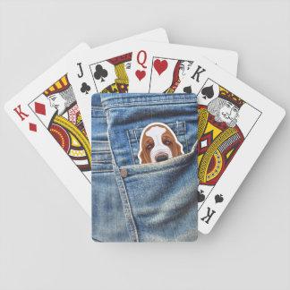 Jagdhund in meiner Tasche Spielkarten