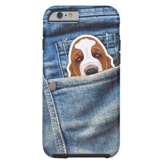 Jagdhund in meiner Tasche Tough iPhone 6 Hülle