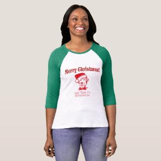 Jagdhund-Weihnachtssegen T-Shirt