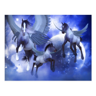 Jagen von Stardust Postkarte Postkarte