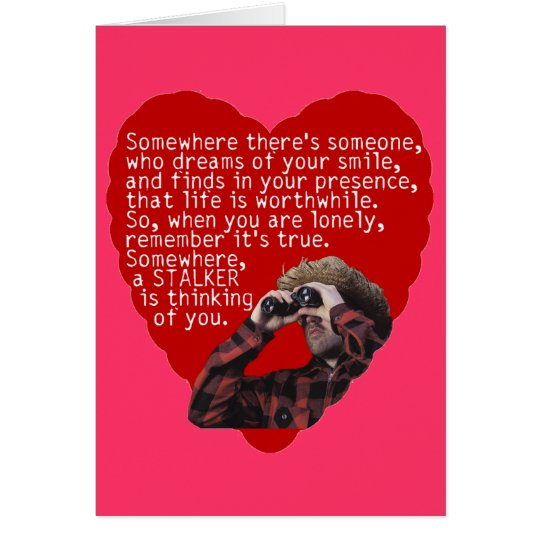 Jäger Anti-Valentinsgrüße Tag Grußkarte