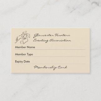 Hunter eventer club membership
