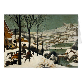 Jäger im Schnee durch Pieter Bruegel das Älteste Karte