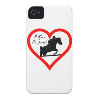Jäger-Pullover, Pferd und Reiter-BlackBerry iPhone 4 Cover