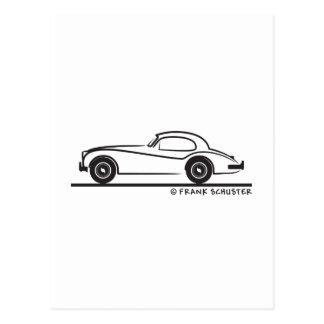 Jaguar 1954 140 postkarte