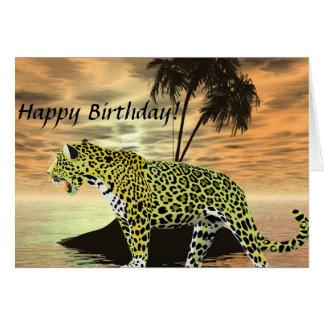 Jaguar auf dem Prowl Karte