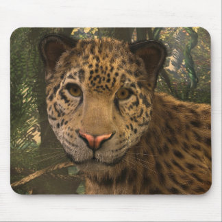 Jaguar belebte mousepad