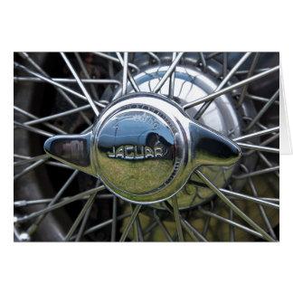 Jaguar-Drahtrad Karte