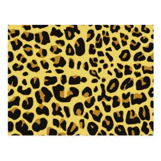 Jaguar-Druck Postkarte