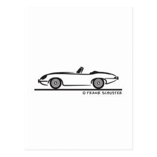 Jaguar E-Artig Postkarte