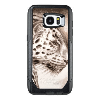 Jaguar in der warmen Sepia-Kunst