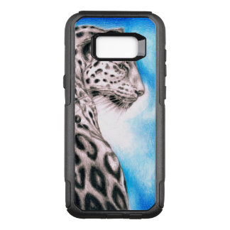 Jaguar-Kunst OtterBox Commuter Samsung Galaxy S8+ Hülle