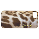 Jaguar-Pelz-große Katzen-wild lebende Tiere iPhone Etui Fürs iPhone 5