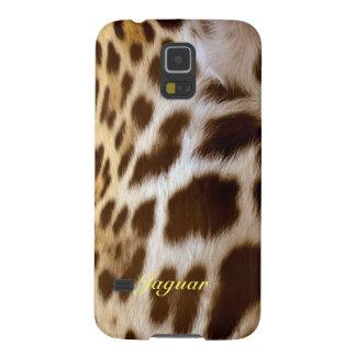 Jaguar-Pelz-große Katzen-wild lebende Tiere Samsung S5 Hülle