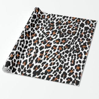 Jaguartierdruck-Packpapier Geschenkpapier