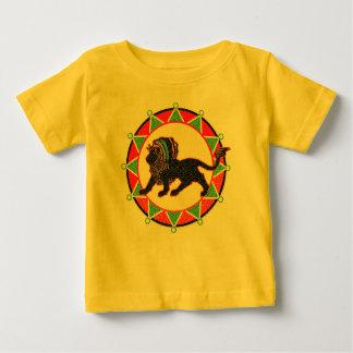 Jah König Rasta Lion Vintage Baby T-shirt