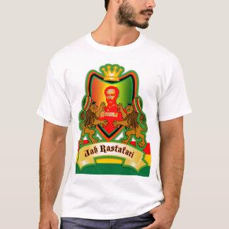 Jah König Rastafari Crest T-Shirt