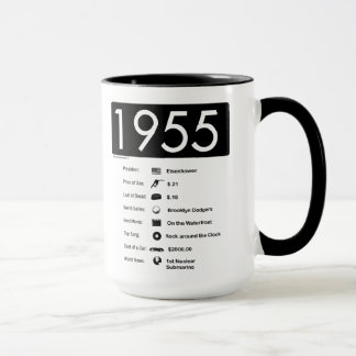 Jahr 1956-Great (15 Unze.) Kaffee-Tasse Tasse