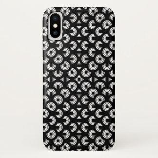 Jahr-abstrakte Kunst iPhone X Hülle