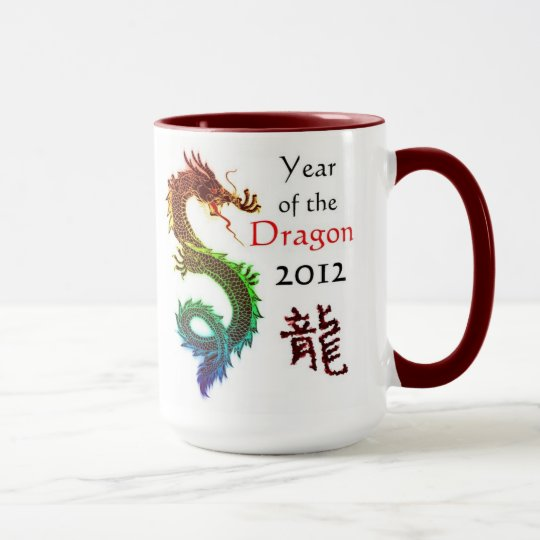 Jahr der Drache-Tasse 2012 Tasse