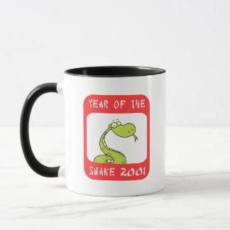 Jahr der Schlange 2001 Tasse