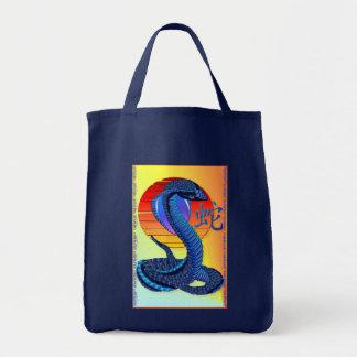 Jahr der Schlange und der Sun-Tasche Tragetasche