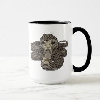Jahr der Schlangen-Glaswecker-Tasse Tasse