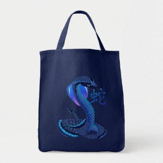 Jahr der Schlangen-Tasche Tragetasche