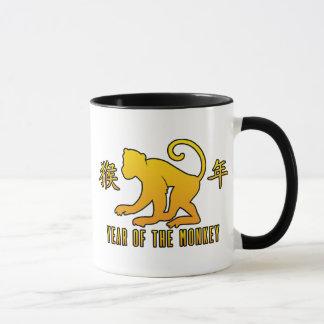 Jahr des Affen Tasse