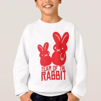 Jahr des Kaninchens Sweatshirt